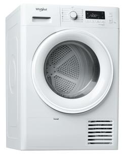 Whirlpool tørretumbler med varmepumpe: fritstående, 7 kg - FT M11 72 EU