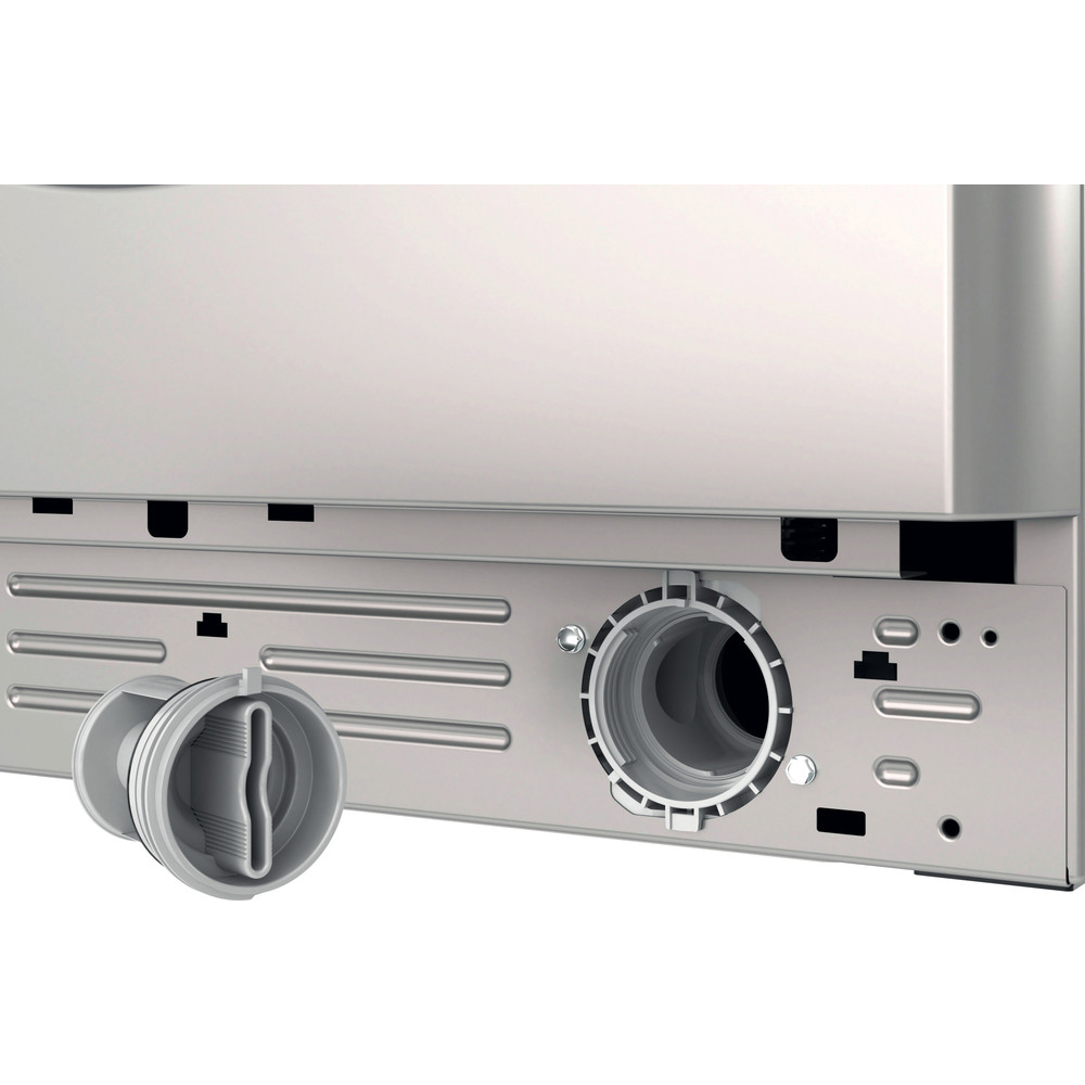 Indesit Washing machine Free-standing BWE 71452 S UK N Silver Front loader E Filter