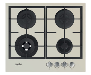 Whirlpool plinska kuhalna plošča: 4 plinski gorilniki - GOFL 629/S