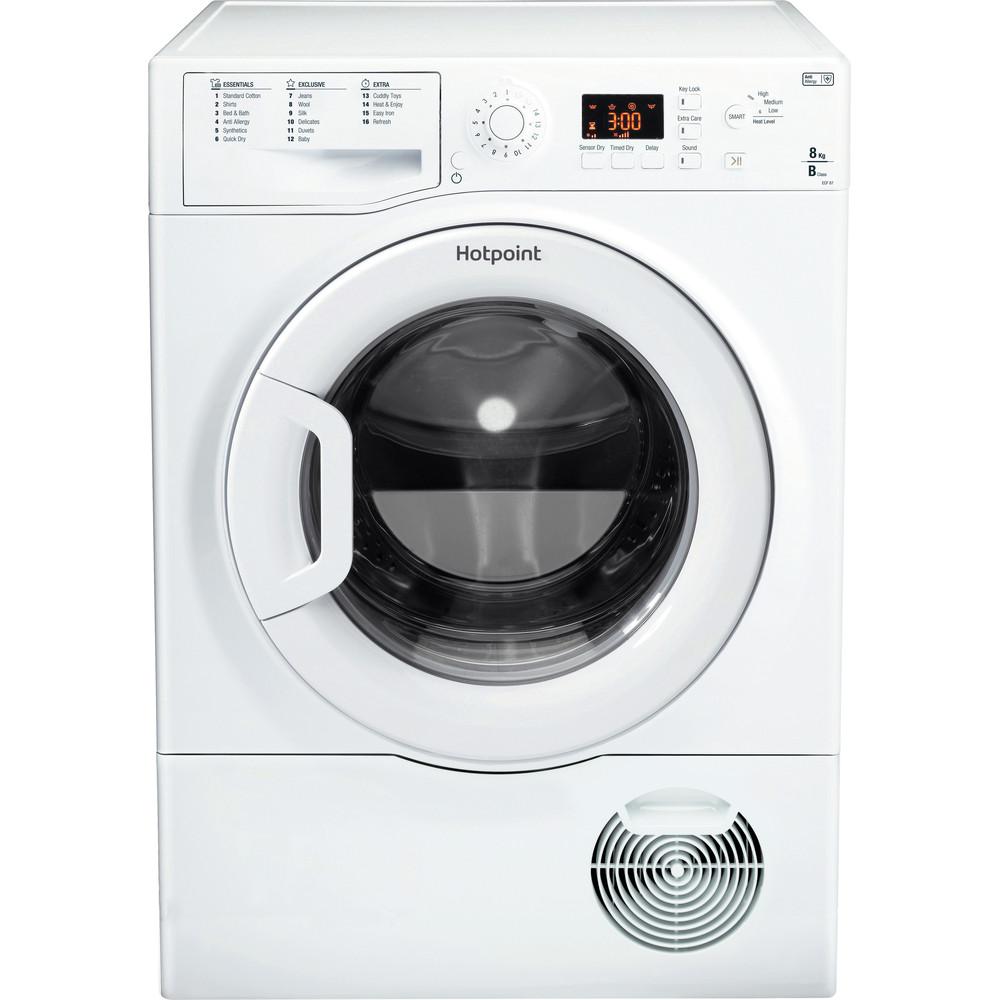 Hotpoint Dryer ECF 87BP UK White Frontal