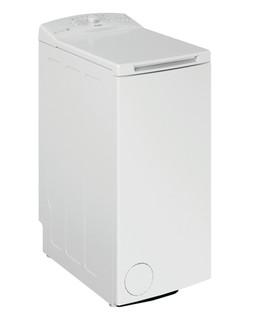 Fritstående Whirlpool-vaskemaskine med topbetjening: 6,0 kg - TDLR 6230L EU/N