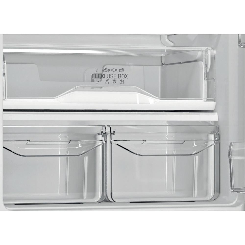 Indesit Холодильник с морозильной камерой Отдельностоящий ITF 120 B Черный 2 doors Drawer