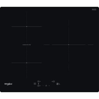 Placa de inducción Whirlpool - WB Q4860 NE - 3 Zonas - Zona Grande 30cm