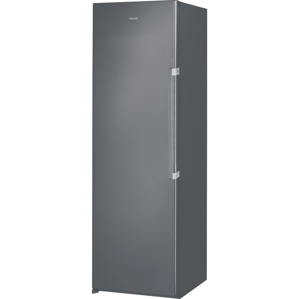 Hotpoint Freezer Free-standing UH8 F1C G UK 1 Graphite Perspective