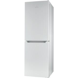 Indesit Réfrigérateur combiné Pose-libre LI7 SN2E W Blanc 2 portes Perspective