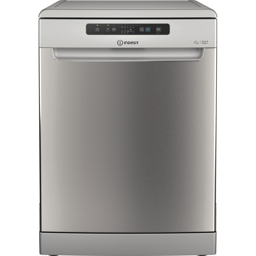 Indesit Посудомоечная машина Отдельностоящий DFC 2C24 A X Отдельностоящий A Frontal