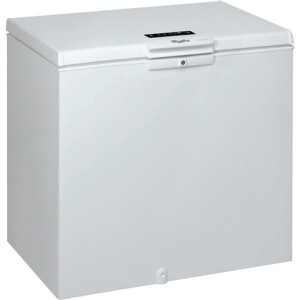 Congelador horizontal de libre instalación Whirlpool: color blanco - WHE2533