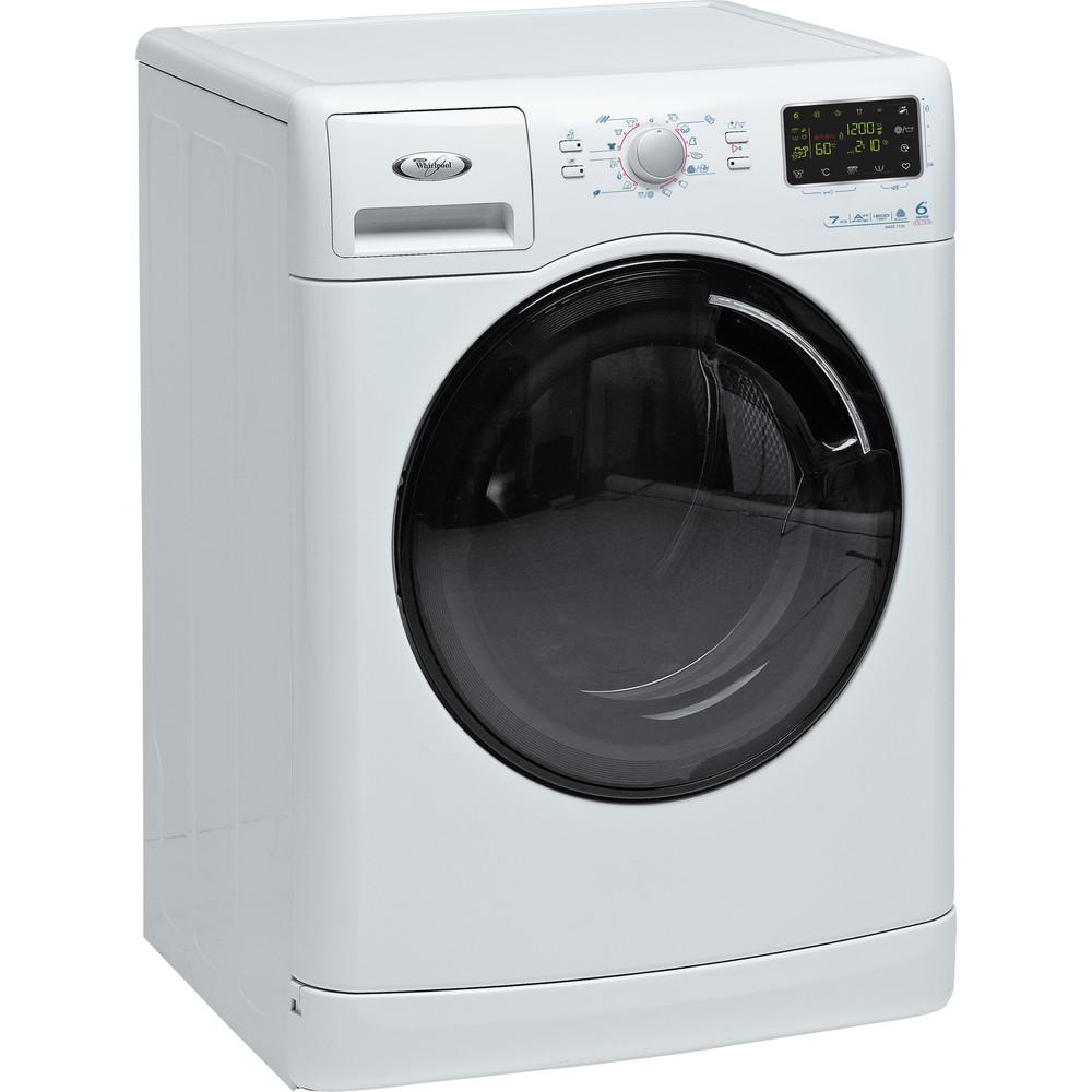 Whirlpool frontmatad tvättmaskin: 7 kg - AWSE 7120