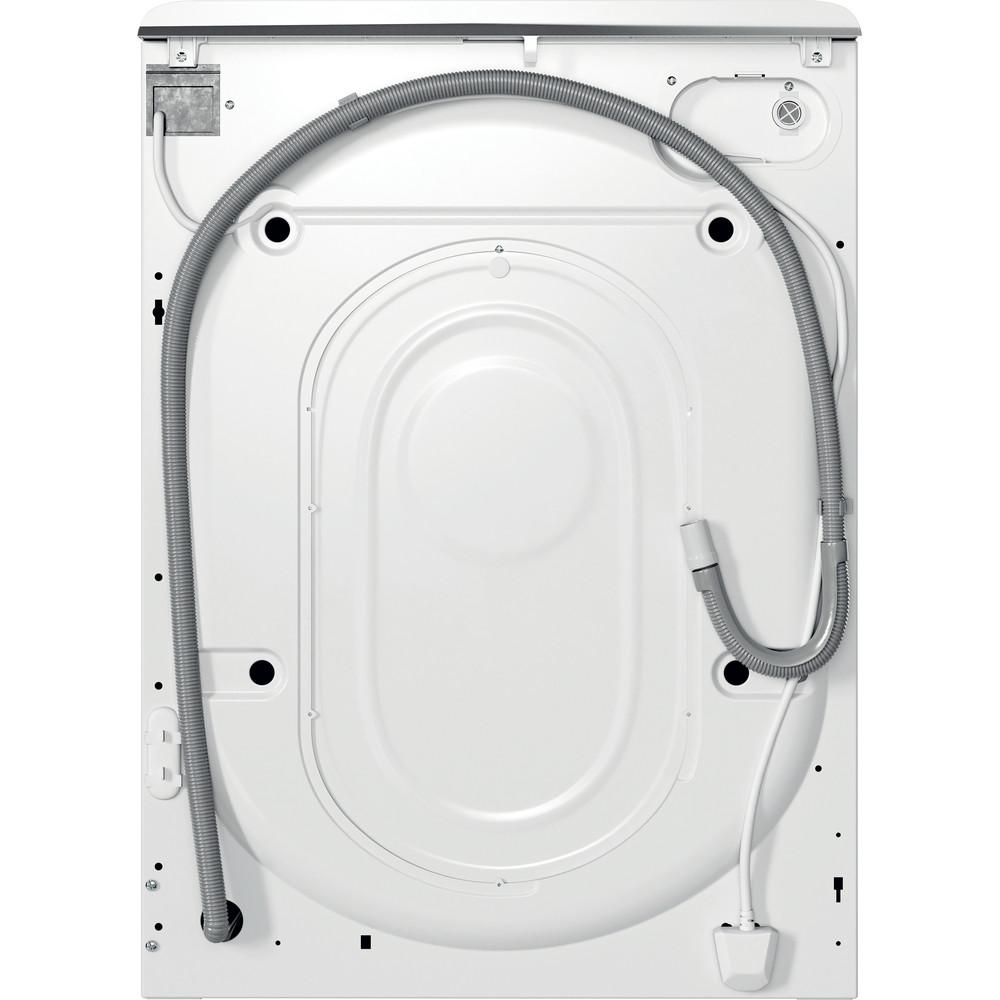 Indsit Maşină de spălat rufe Independent MTWA 91283 W EE Alb Încărcare frontală D Back / Lateral