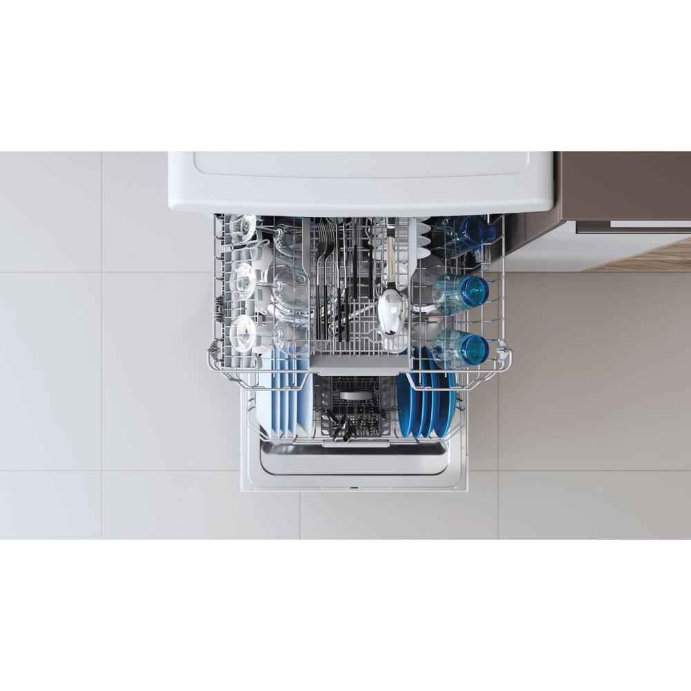 Indesit Mašina za pranje posuđa Samostojeći DFC 2B+19 AC Samostojeći F Rack