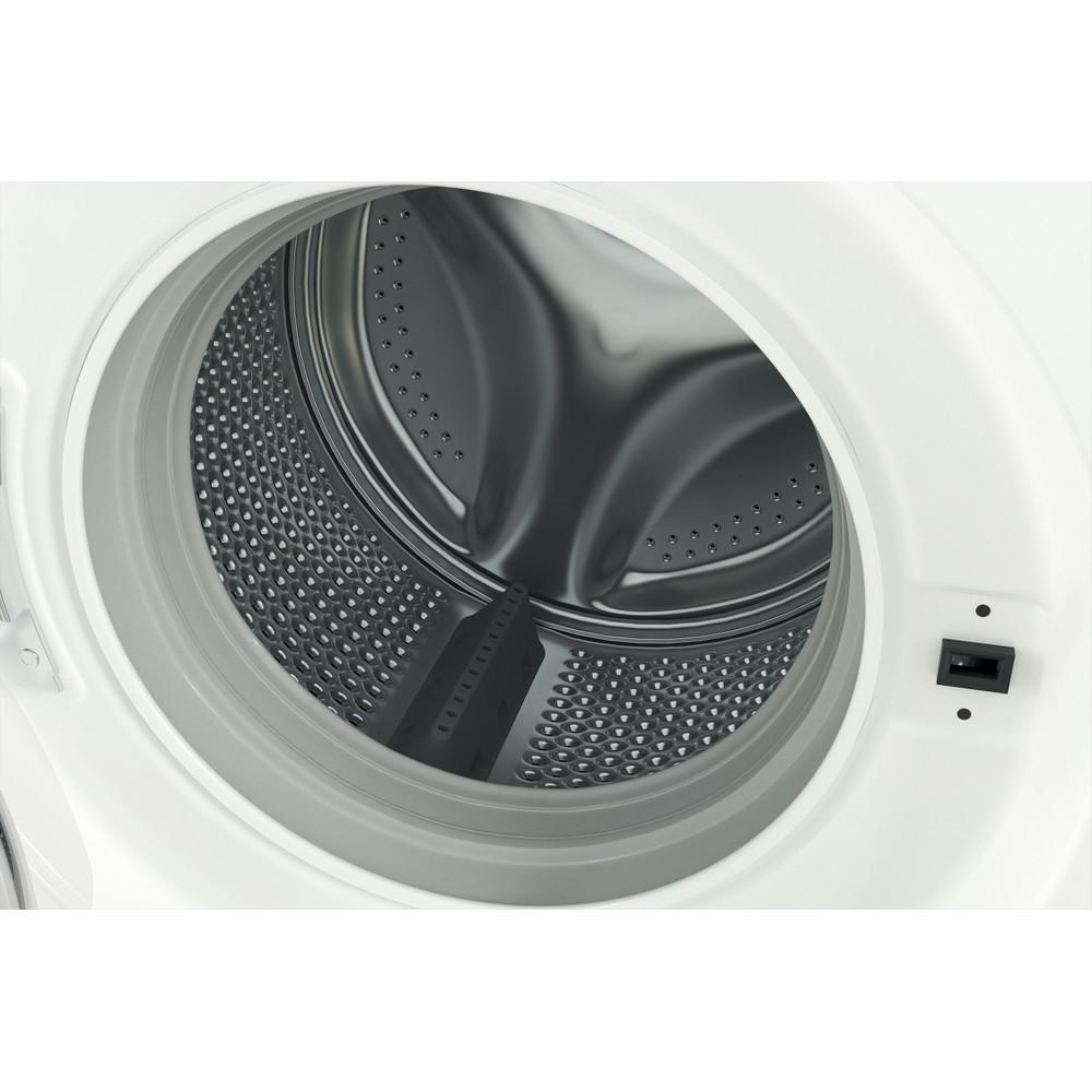 Indesit Перална машина Свободностоящи MTWSA 51051 W EE Бял Предно зареждане F Drum