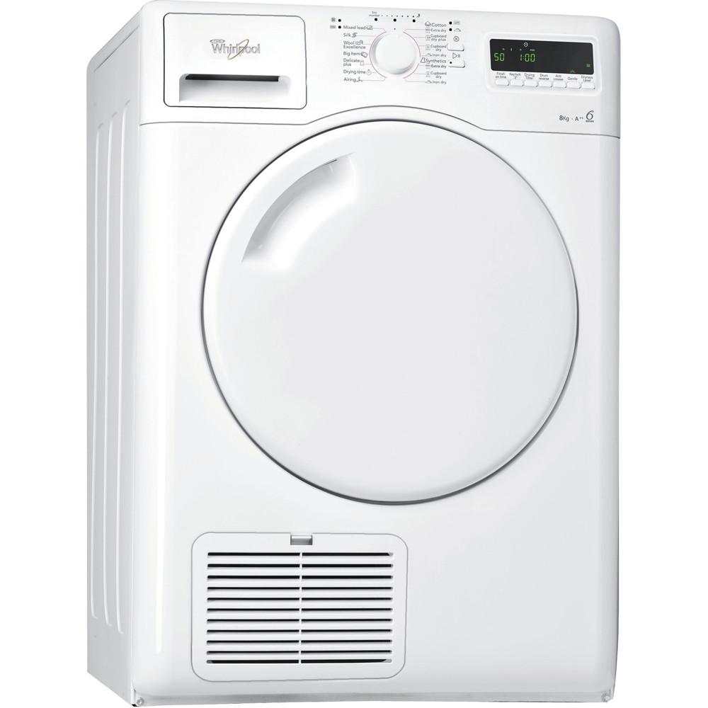 Whirlpool torktumlare: fristående, 8 kg - AZA-HP 8002/1