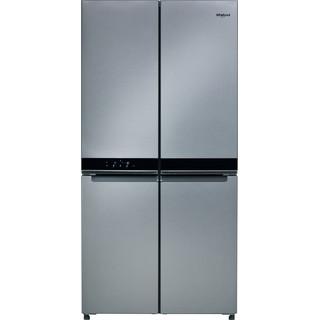 Whirlpool side-by-side american fridge: inox color - WQ9 B1L UK