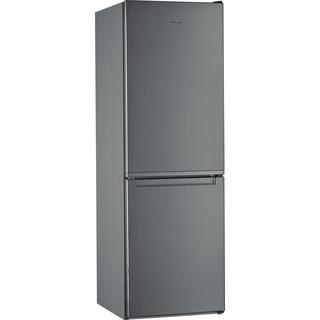 Whirlpool Kombinētais ledusskapis/saldētava Brīvi stāvošs W5 711E OX 1 Optic Inox 2 doors Perspective