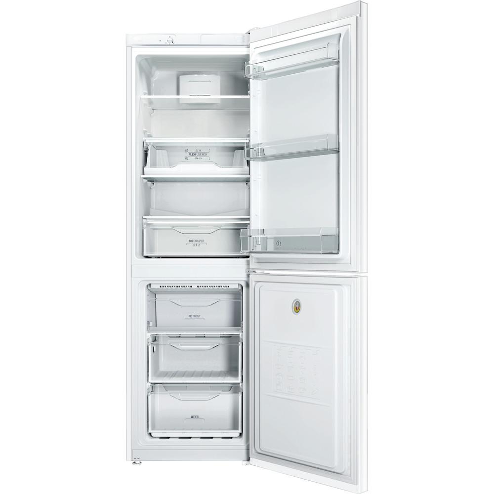 Indesit Combinazione Frigorifero/Congelatore A libera installazione LI80 FF2 W B Bianco 2 porte Frontal open