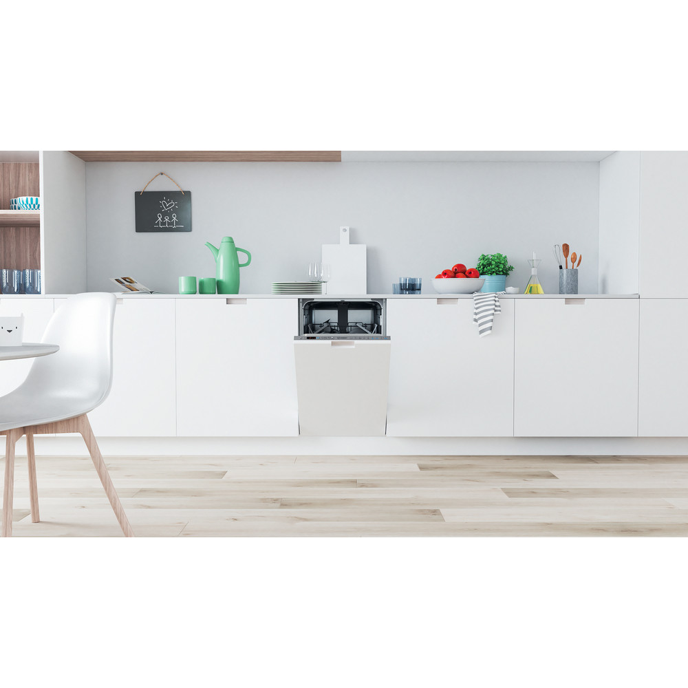 Indesit Dishwasher Built-in DSIO 3T224 E Z UK N Full-integrated A++ Lifestyle frontal