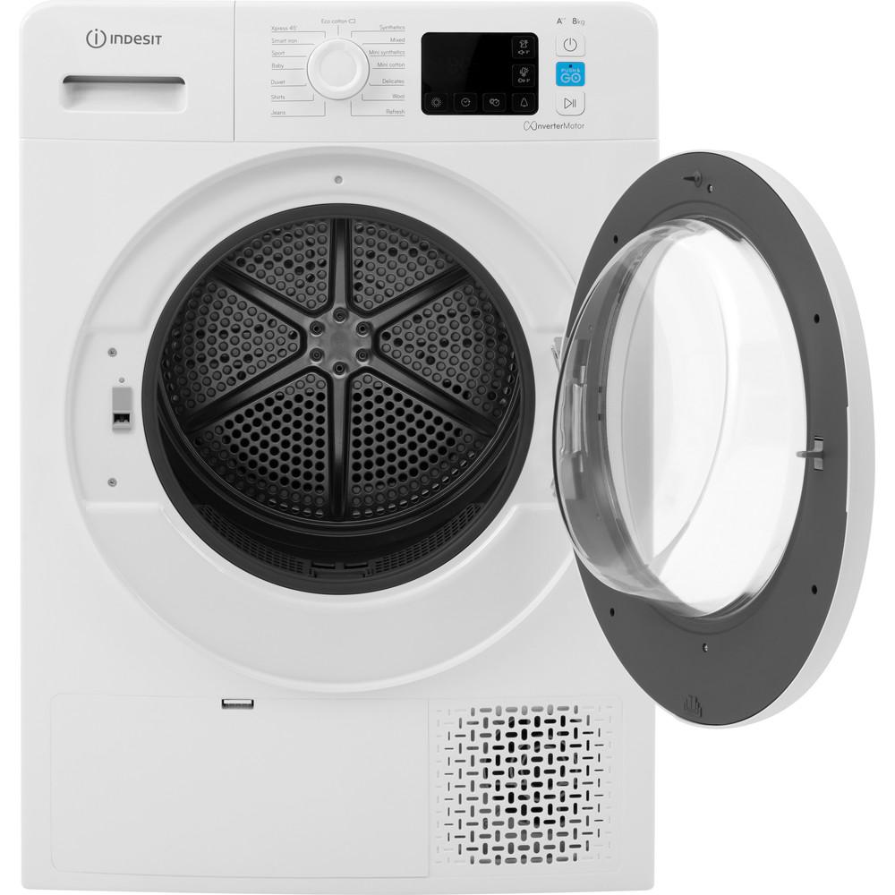 Indesit Dryer YT M11 82 X UK White Frontal open