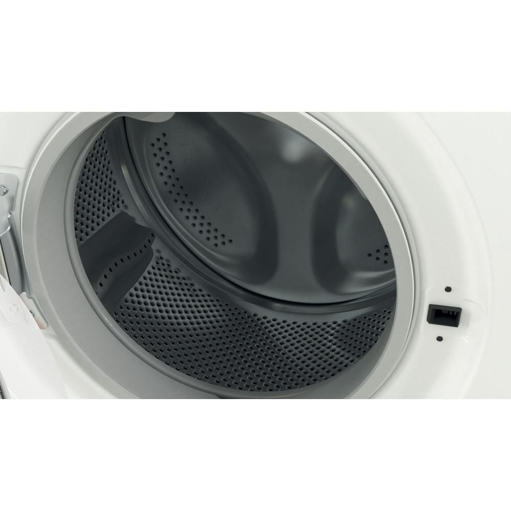 Indesit Washer dryer Free-standing IWDD 75125 UK N White Front loader Drum