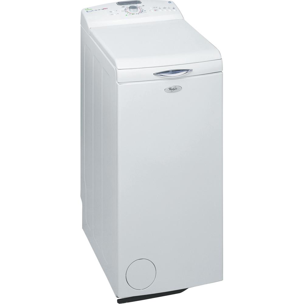 Whirlpool toppmatad tvättmaskin: 6 kg - AWEco 9644
