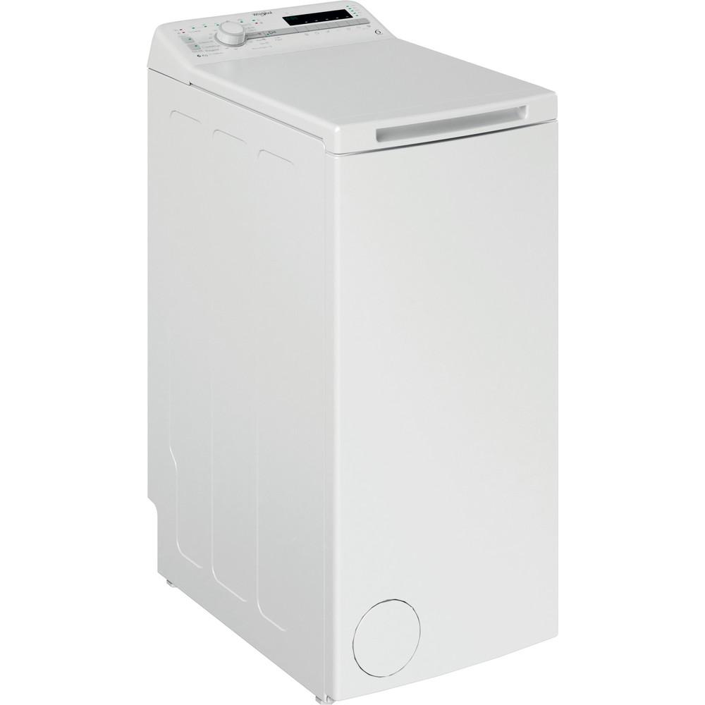 Whirlpool toppmatad tvättmaskin: 6 kg - TDLR 6030S EU/N