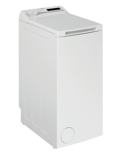 Fritstående Whirlpool-vaskemaskine med topbetjening: 6,0 kg - TDLR 6030S EU/N