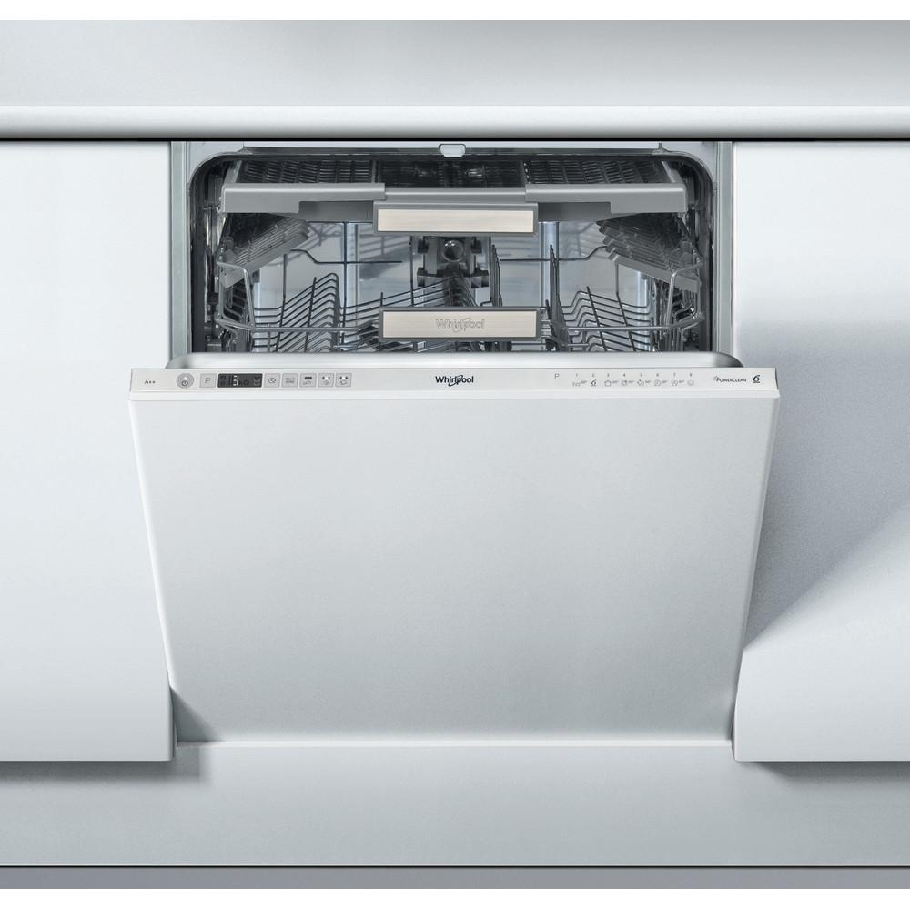 Whirlpool integrert oppvaskmaskin: farge stål, 60 cm - WIC 3T123 PFE