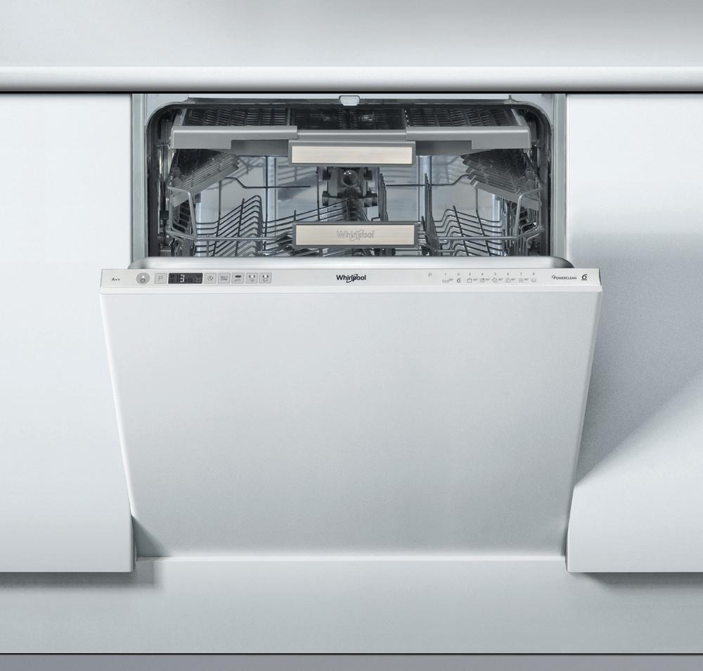 Whirlpool Astianpesukone Kalusteisiin sijoitettava WIC 3T123 PFE Full-integrated A++ Frontal