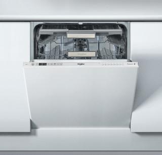 Integreret Whirlpool-opvaskemaskine: inox-farve, fuld størrelse - WIC 3T123 PFE