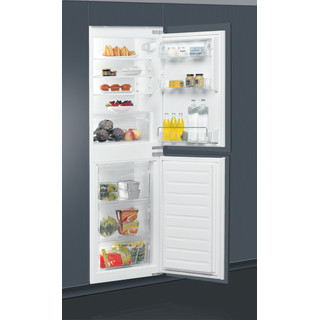 Whirlpool Fridge-Freezer Combination Built-in ART 4550/A+ SF.1 White 2 doors Lifestyle perspective open