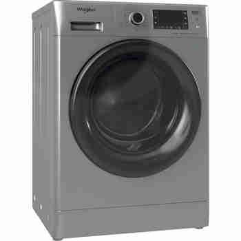 Whirlpool Maşină de spălat rufe cu uscător Independent FWDD 1171582 SBV EU N Silver Încărcare frontală Perspective