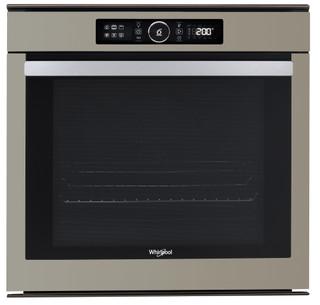 Whirlpool beépíthető elektromos sütő: öntisztító, szatén ezüst szín - AKZM 8480 S