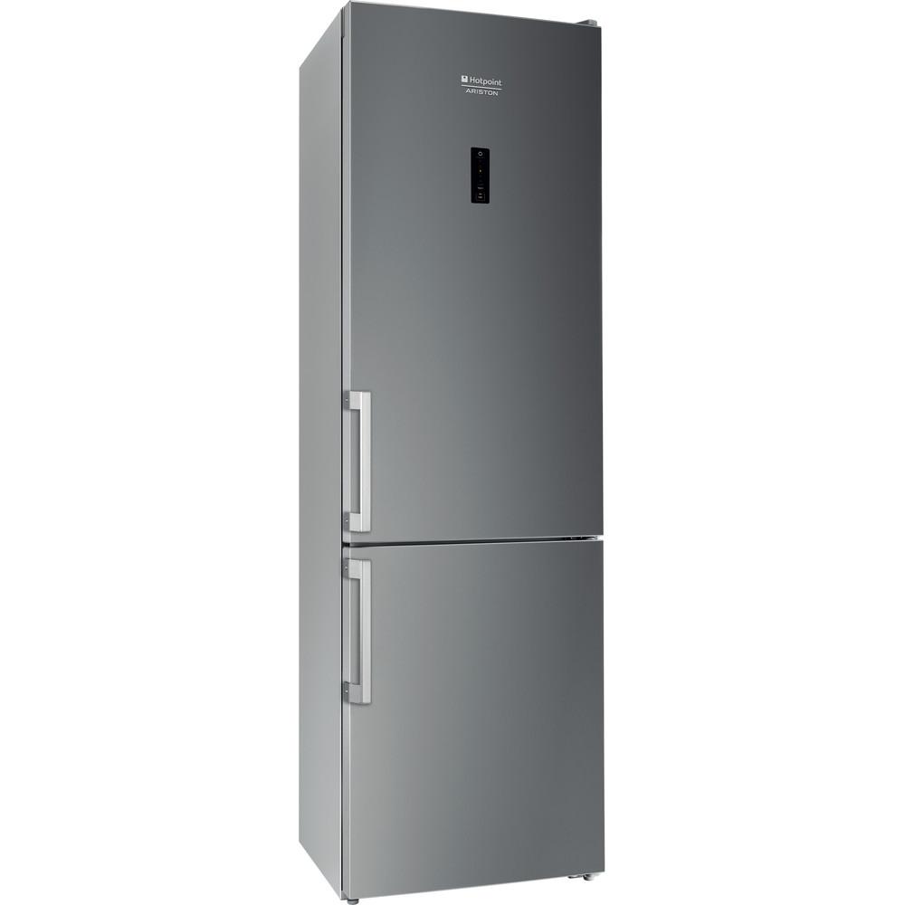 Hotpoint_Ariston Комбинированные холодильники Отдельностоящий RFC 20 S Серебристый 2 doors Perspective