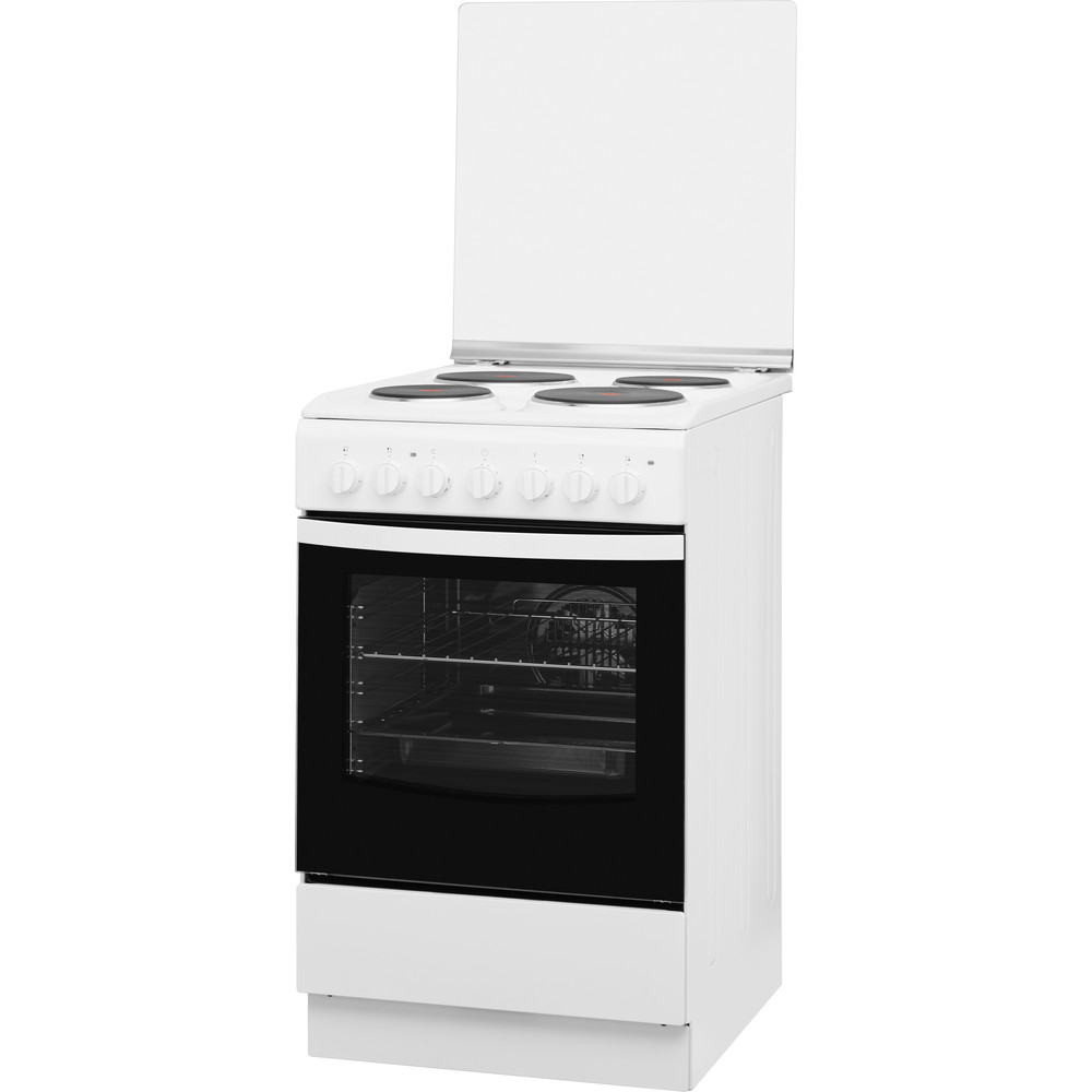 Indesit Готварска печка IS5E5PCW/E Бял Electrical Perspective