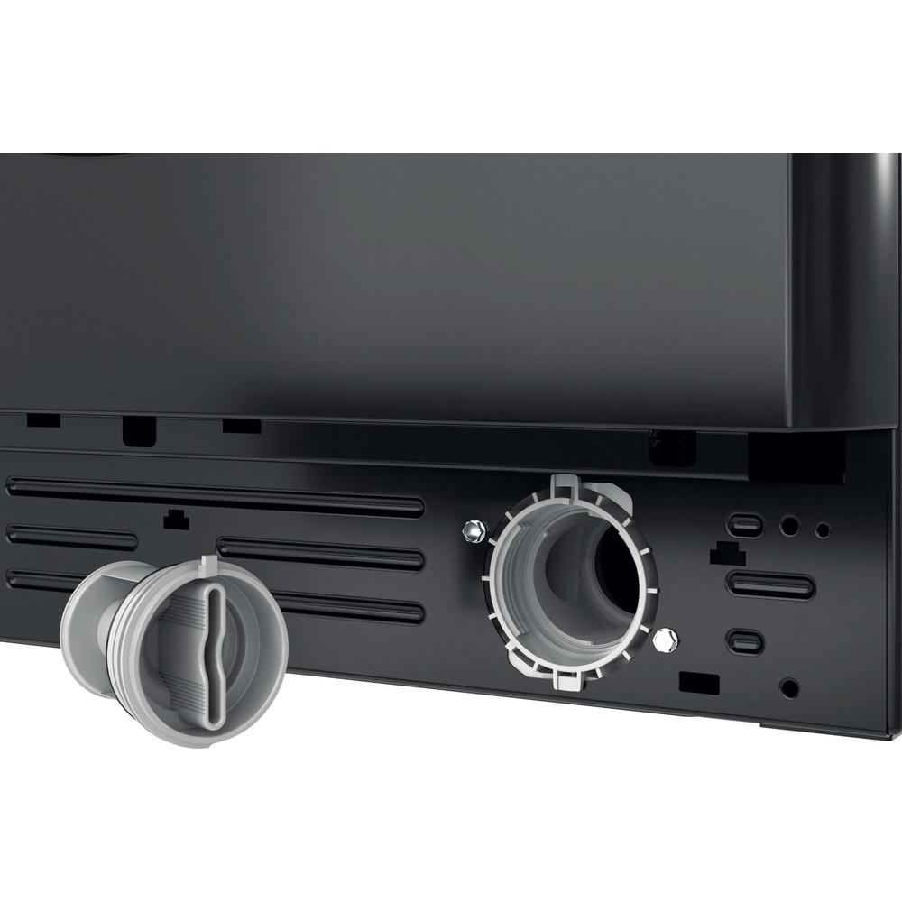 Indesit Washing machine Free-standing BWE 71452 K UK N Black Front loader E Filter