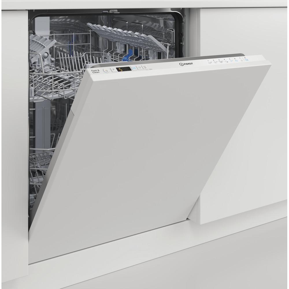 Indesit Máquina de lavar loiça Encastre DIC 3C24 A Encastre total E Lifestyle perspective open