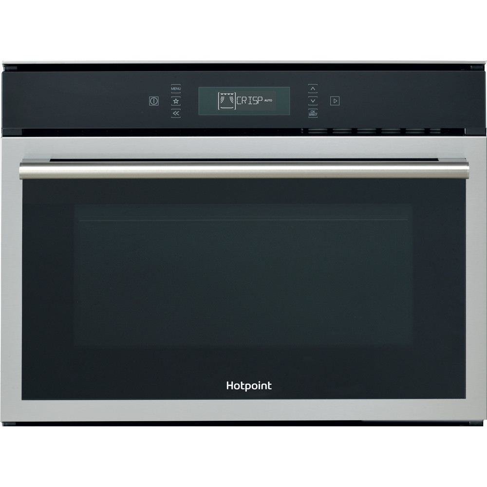 Hotpoint Microwave Built-in MP 676 IX H Inox Electronic 40 MW-Combi 900 Frontal