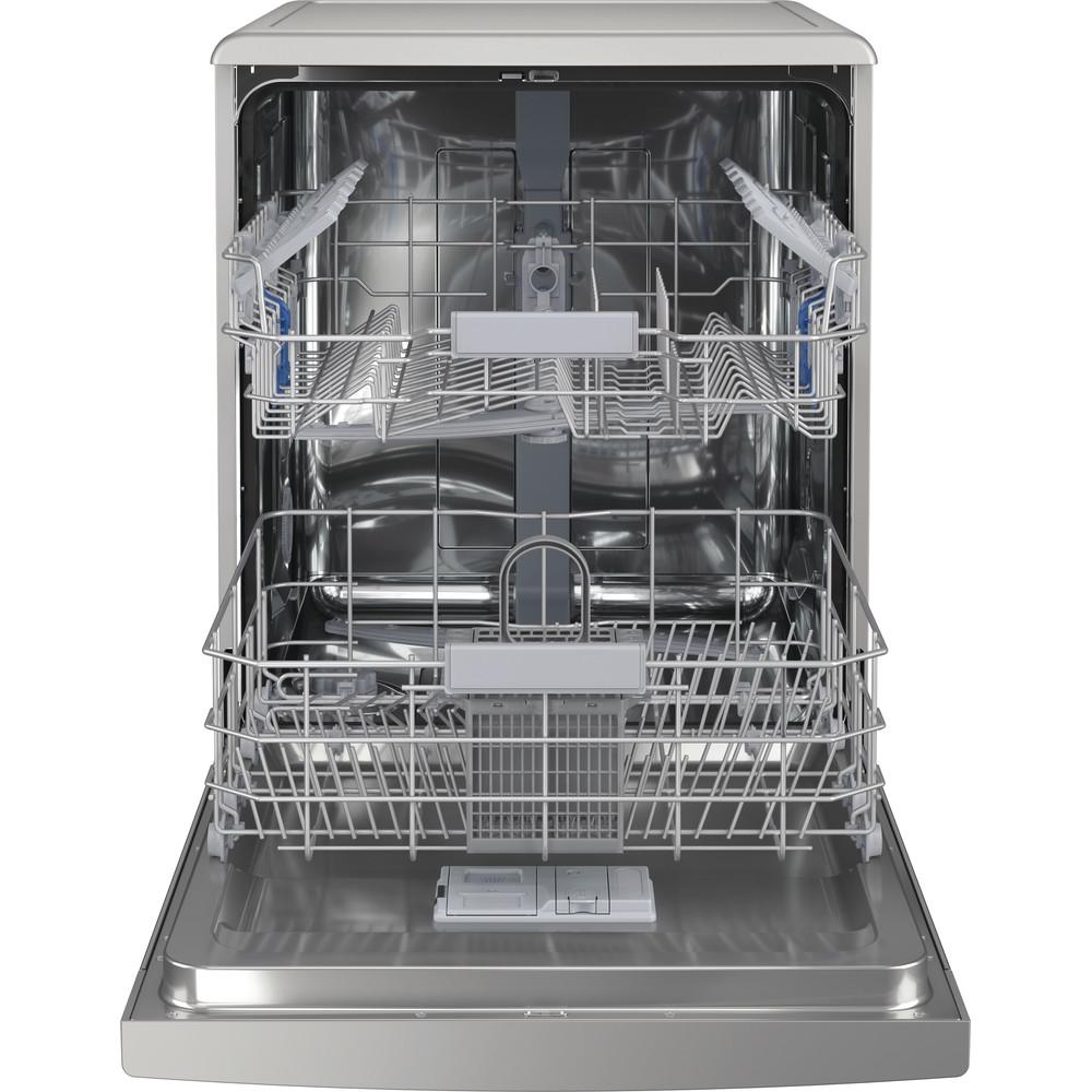 Indesit Посудомоечная машина Отдельностоящий DFC 2C24 A X Отдельностоящий A Frontal open