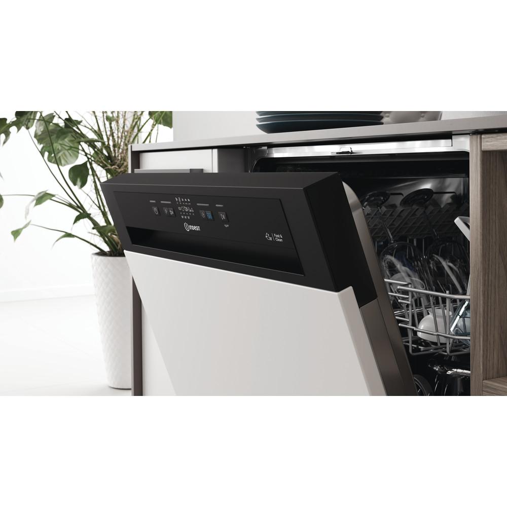 Indesit Lavastoviglie Da incasso DBE 2B19 A B Semi-integrato F Lifestyle control panel