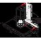 Whirlpool Аспиратор Вграден WHBS 94 F LM X Инокс За монтиране на стена Механично Frontal