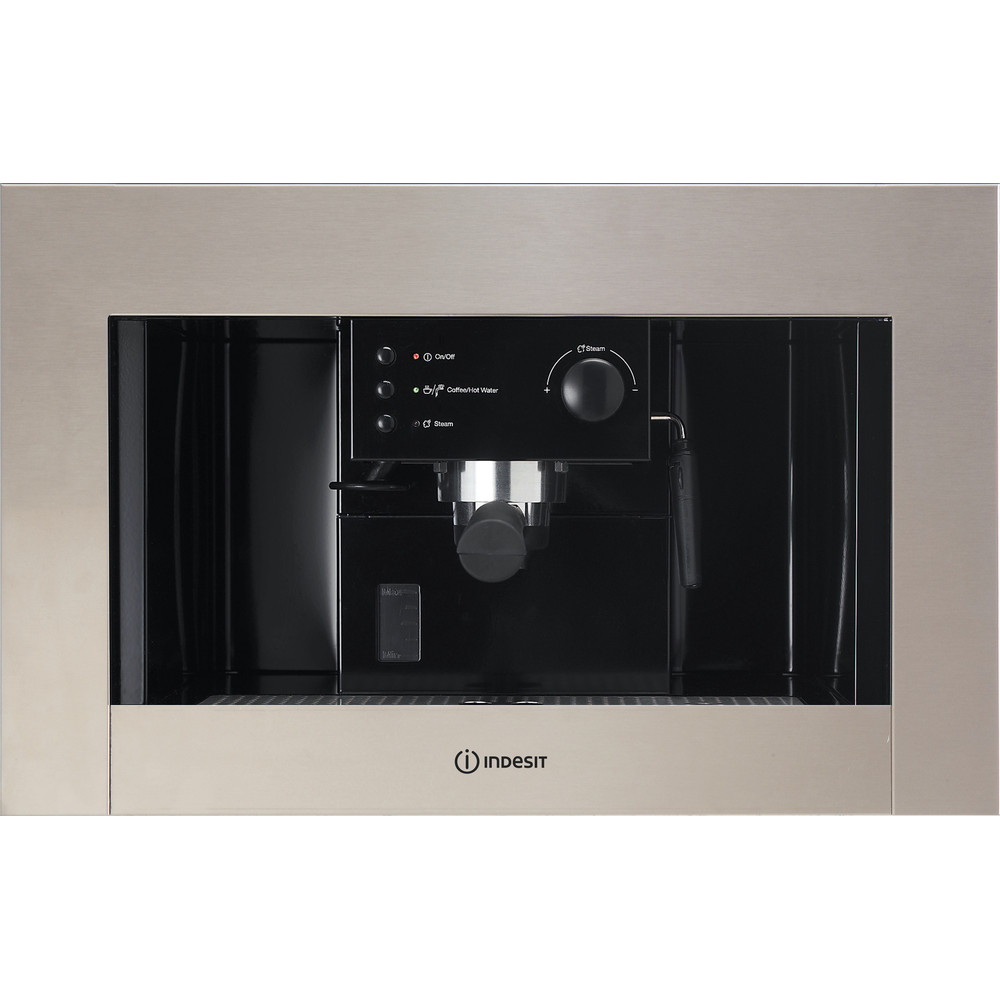 Indesit Встраиваемая кофемашина CMI 5038 IX Inox Half automatic Frontal