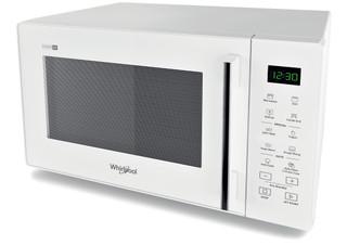 Vapaasti sijoitettava Whirlpool mikroaaltouuni: Valkoinen - MWP 253 W
