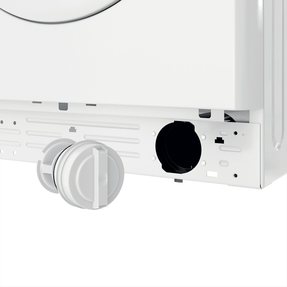 Indesit Waschmaschine Freistehend MTWE 81483E W DE Weiß Frontlader D Filter