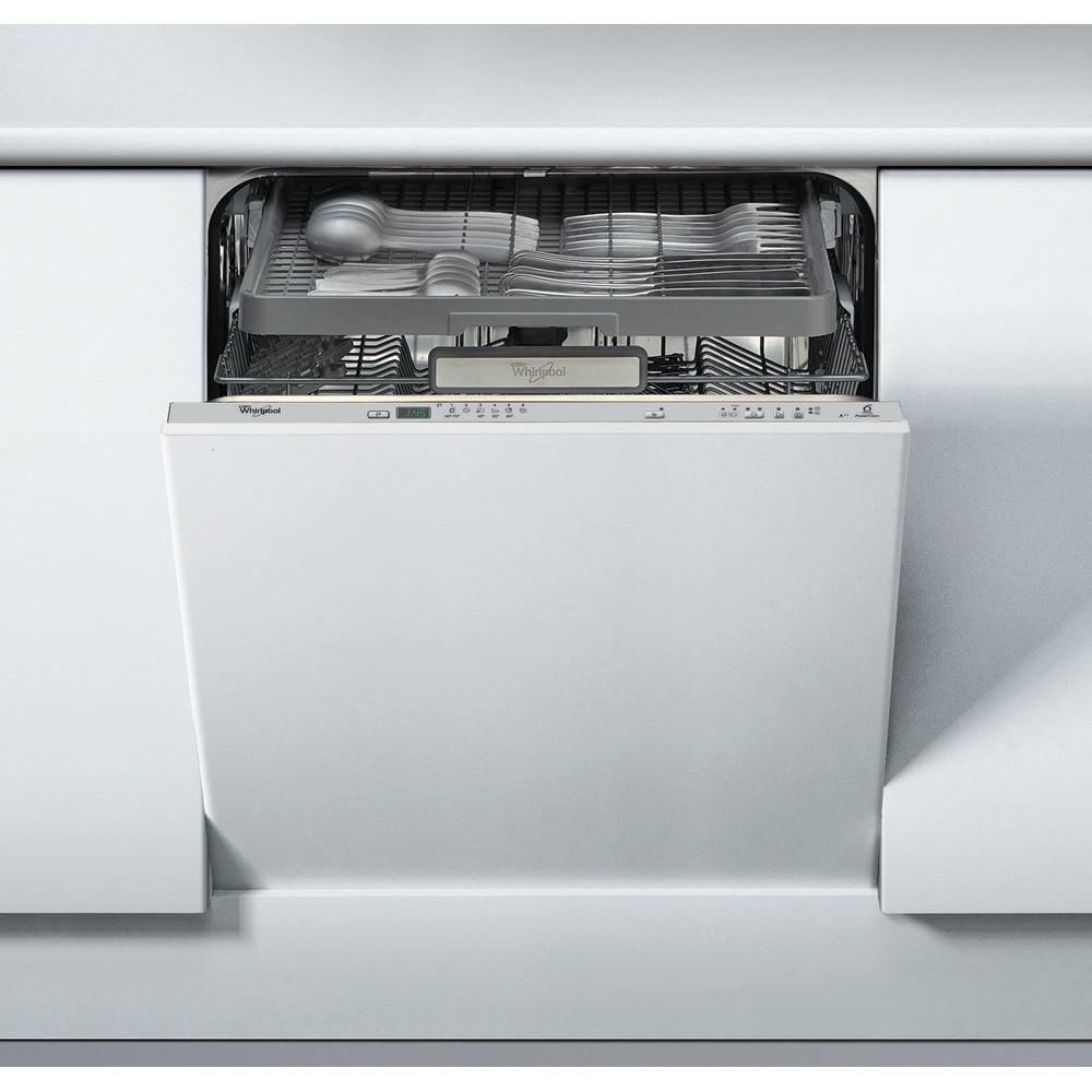 Lavavajillas integrable Whirlpool: color silver, 60 cm - ADG 7200