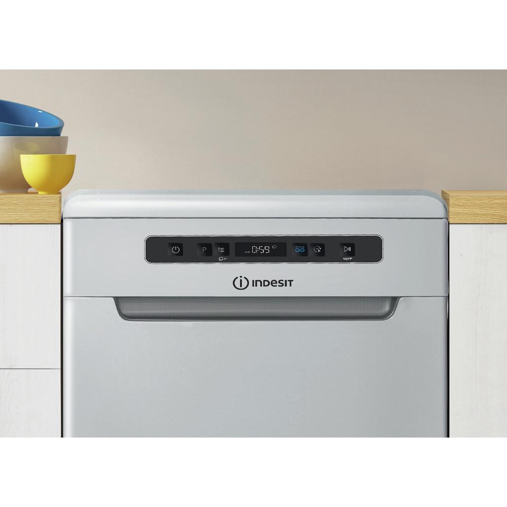Indesit Lave-vaisselle Pose-libre DSFC 3T117 S Pose-libre A+ Lifestyle control panel