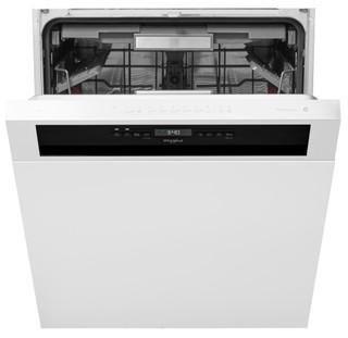 Whirlpool-opvaskemaskine: inox-farve, fuld størrelse - WUO 3T321 X