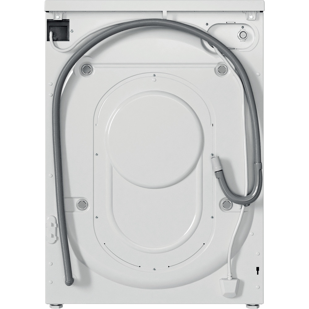 Indesit Пералня със сушилня Свободностоящи EWDE 761483 WS EE N Бял Предно зареждане Back / Lateral