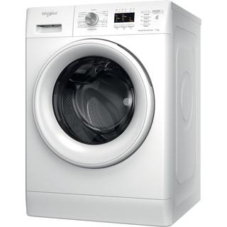 Whirlpool Perilica za rublje Samostojeći FFL 7238 W EE Bijela Prednje punjenje D Perspective