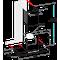 Whirlpool Liesituuletin Kalusteisiin sijoitettava WHSS 90F L T B K Musta Wall-mounted Elektroninen Frontal