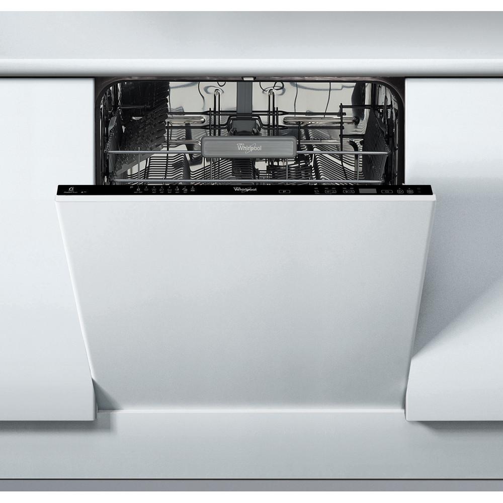 Whirlpool integrerad diskmaskin: färg svart, 60 cm - ADG 8575 FD