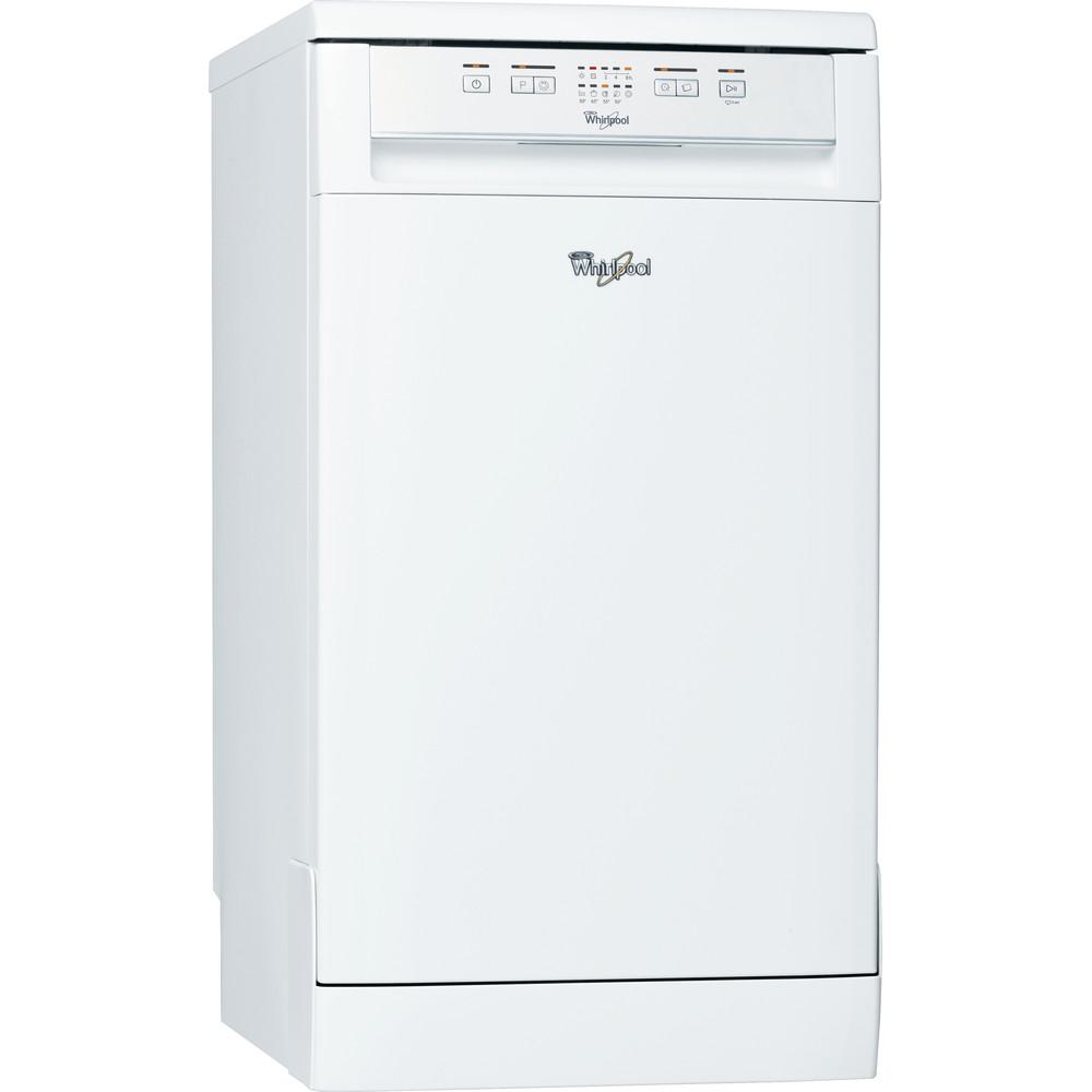 Посудомийна машина Whirlpool: білий колір, вузька - ADP 221 WH
